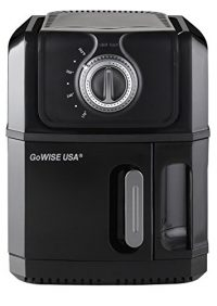 GoWISE USA Large Kitchen Electric Oil Less Air Fryer 120V 3.2 QT Capacity