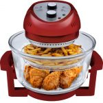 Big Boss Oil-Less Fryer Red, 16-Quart, 1300-watt