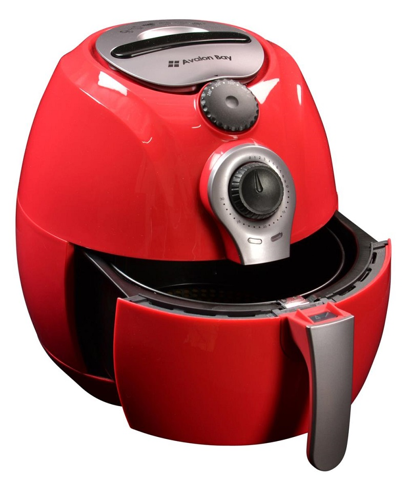 avalon bay ab airfryer100r in red. Black Bedroom Furniture Sets. Home Design Ideas
