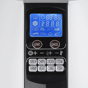 GoWISE USA Air Fryer GW22611 control panel