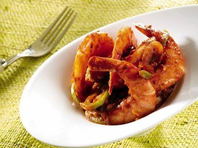 T-fal Actifry shrimp