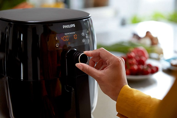 Philips Airfryer HD9641 - Quick control dial