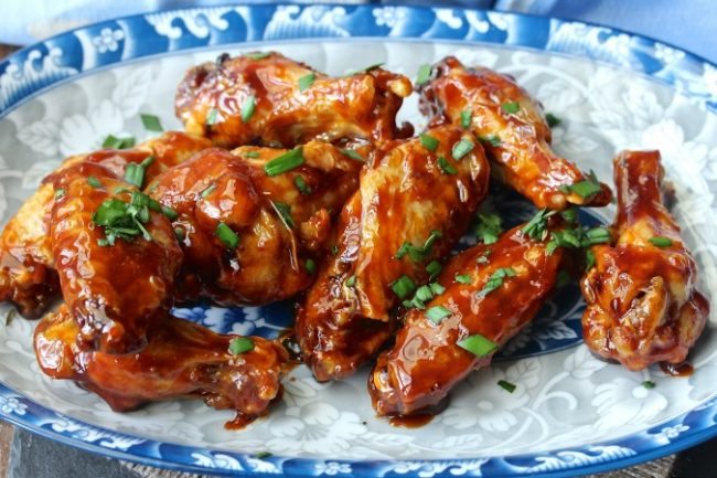 Sriracha-Honey Chicken Wings - Air Fryer Recipe