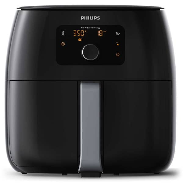 Philips HD9654 Airfryer Advance XXL | A Large Family Size #Airfryer with the capacity to fry 2 bags of Frozen Fries or even a whole Chicken | Large Capacity Air Fryer with fat removal technology let's you fry food with up to 90% less fat!